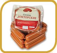 """Сосиски """"Докторские"""". ООО """"АНКОМ"""" , Санкт-Петербург."""